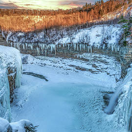 Frozen Falls by Mike Griffiths