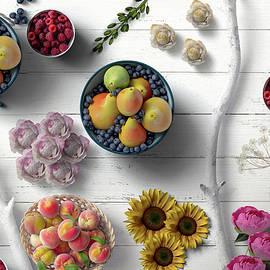 Fruit Berries Flowers The Decorative Way by Johanna Hurmerinta