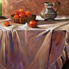 Fruit by Candle Light by Nancy Griswold