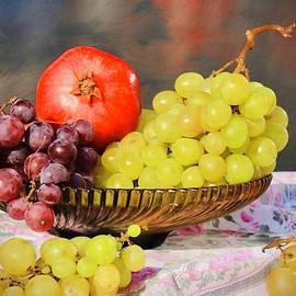 Fruit On The Table by KaFra Art