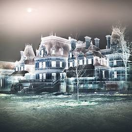 Full Moon over the Mysterious Palace by Slawek Aniol