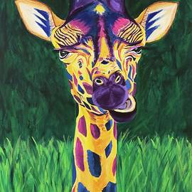 Fun Giraffe by Nicole Pedra