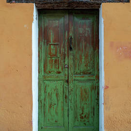 The Green Door by Leslie Struxness