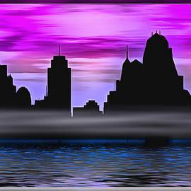 Future City Skyline by Mario Carini