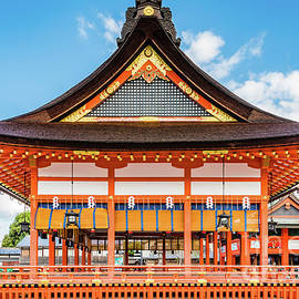 Gai-Haiden, Fushimi Inari-Taisha Shrine, Kyoto #2 by Lyl Dil Creations