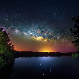 Galaxy Island by Mark Andrew Thomas