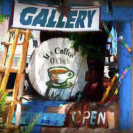 Gallery and Coffee Shop by Debra Martz