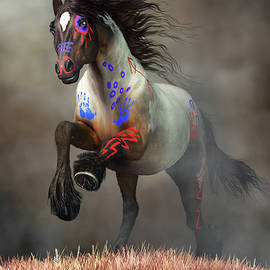 Galloping War Horse by Daniel Eskridge