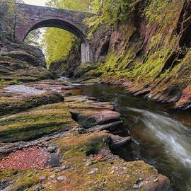 Gannochy Bridge by Dave Bowman