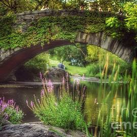 Gapstow Bridge in September - Central Park New York - Prints - Puzzles - and More by Miriam Danar