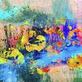 Garden Along the Stream by Sharon Williams Eng