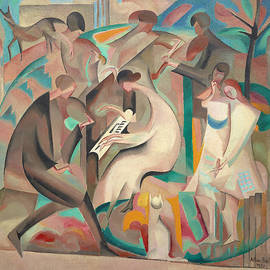 Garden Concert by Alice Bailly