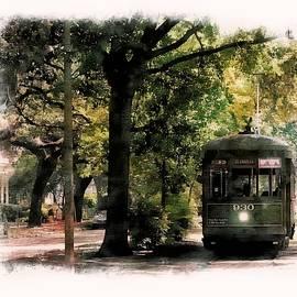 Garden District Streetcar by Jeff Watts