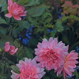 Garden in the Pink by Laurelle Cidoncha
