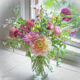 Garden inside a Vase by Rebecca Finley