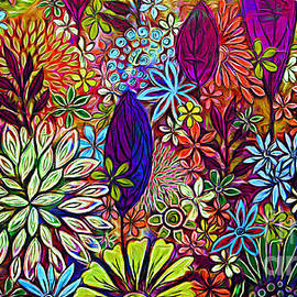 Garden Landscape.  by Trudee Hunter
