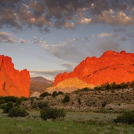Garden of the Gods Sunrise by James Dailey