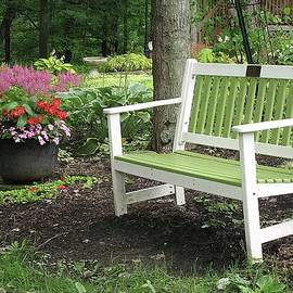 Garden Respite by Monnie Ryan