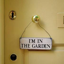 Garden Sign, Philadelphia 2012 by Michael Chiabaudo