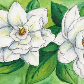 Gardenias by Stefani Shea