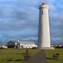 Gardur lighthouse on Reykjanes Peninsula by RicardMN Photography