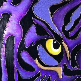 Geaux Tigers by Rhonda Rogers