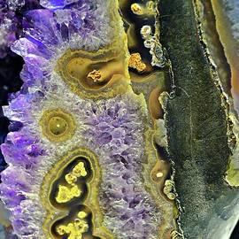 Gemstone Abstract I by Linda Covino