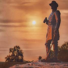 General Warren at Sunset by Tommy Anderson
