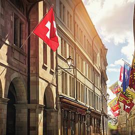 Geneva Old Town Switzerland  by Carol Japp