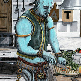 Genie Cooking Kitchen Magic by Ted Helms