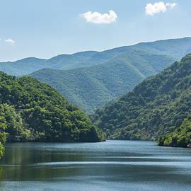 Gentle Blue Breeze - Irenic Lake in the Mountains by Georgia Mizuleva