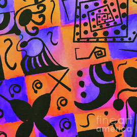 Geometric Doodle Pattern by Laurie's Intuitive