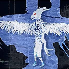 Ghost  Bird-man by Hartmut Jager