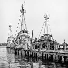 Ghost Fleet Reidville by George Moore