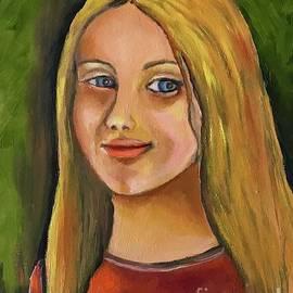 Girl by Maria Karlosak