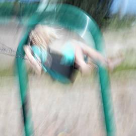 Girl on a Swing by Eileen Brabender