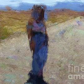 Girl on Trail by Katherine Erickson