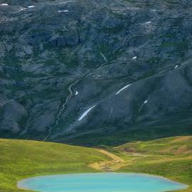 Glacier Lake Banff National Park, Alberta Canada by Yves Gagnon
