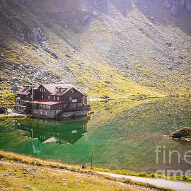 Glacier Lake by Claudia M Photography