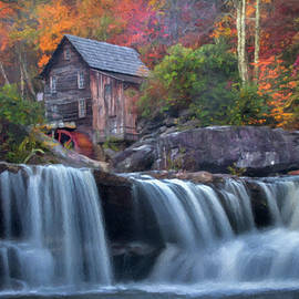 Glade Creek Grist Mill  by Harriet Feagin  Photography