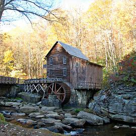 Glade Creek Grist Mill - Horizontal  by Marilyn DeBlock