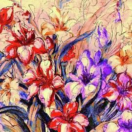 Gladioli Garden by Natalie Holland