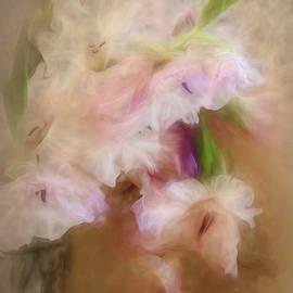 Gladioli in a Vase by Ann Garrett