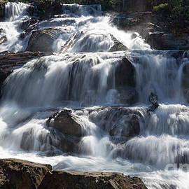 Glen Alpine Falls in El Dorado National Forest, California, U. S. A. by PROMedias Obray