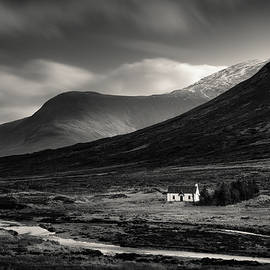 Glencoe Cottage by Dave Bowman
