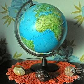 Globe and Stones by Kathryn Jones