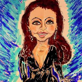 Gloria Estefan by Geraldine Myszenski