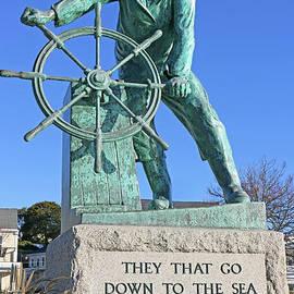 Gloucester Fisherman's Memorial by Steve Gass