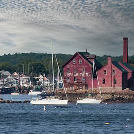 Gloucester Harbor Paint Manufactory by Jeff Folger