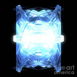 Glowing Diamond by jammer by First Star Art